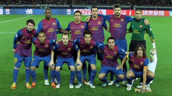 Équipe préférée  Fc bARcelona