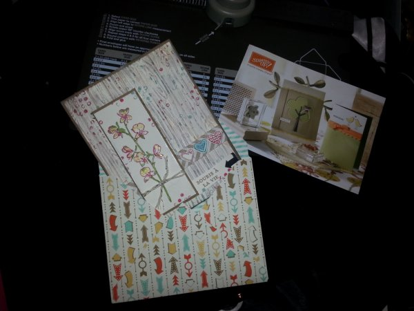 carte avec enveloppe