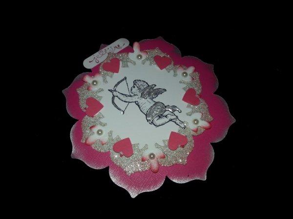 carte pour la st valentin