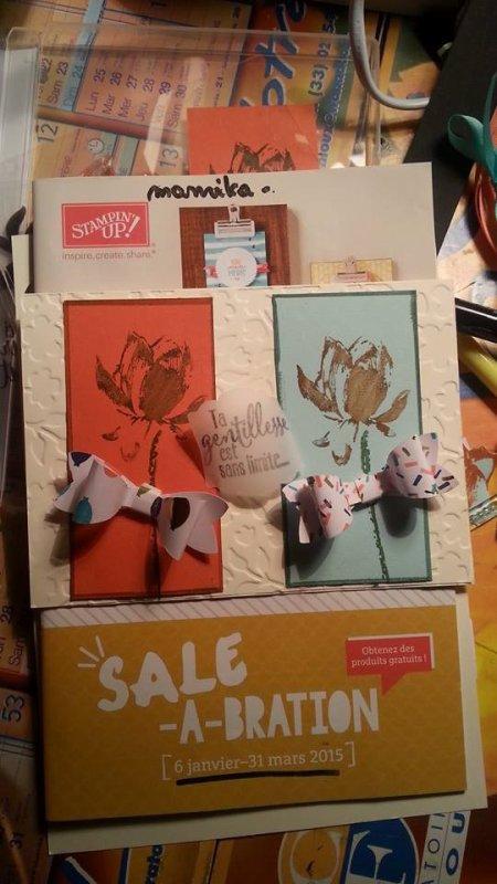 petite creation de cartes a vendre ou a faire en atelier