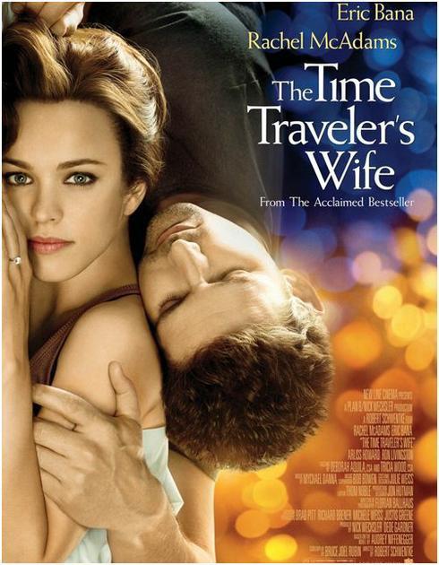 """The Time Traveler's Wife... affiche filmographique tiré du livre """"Le temps n'est rien"""""""