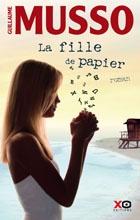 """""""La fille de papier"""" de Guillaume Musso."""