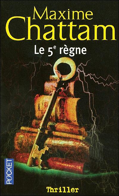 """""""Le 5ème règne"""" de Maxime Chattam..."""