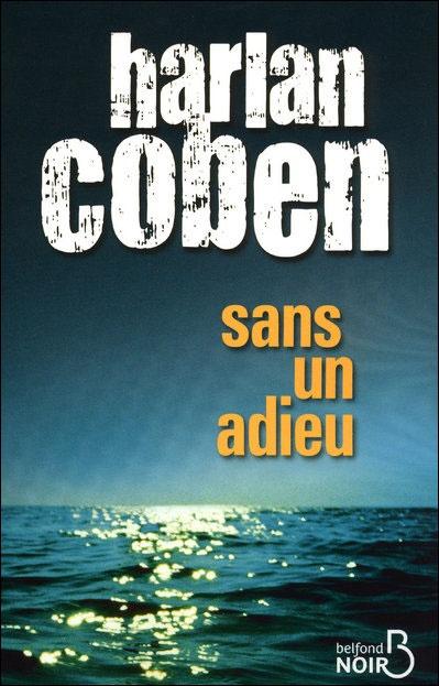 """""""Sans un adieu"""" de Harlan Coben."""