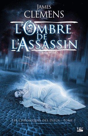 """'L'Ombre de l'assassin, chronique des dieux"""", tome 1 de James Clemens..."""