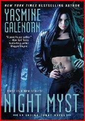 Une nouvelle série pour Yasmine Galenorn...