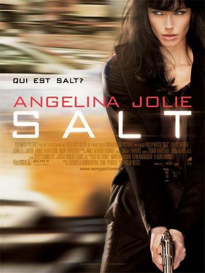 """SALT"" avec Angelina Jolie..."