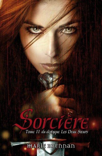 """Visuel """"Les Deux Sorcière"""", tome 2 de Marie BRENNAN chez Eclipse..."""
