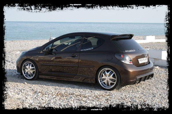 peugeot 207 nutella tuning mania0802. Black Bedroom Furniture Sets. Home Design Ideas