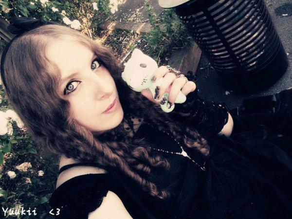 Moi en Gothique Lolita