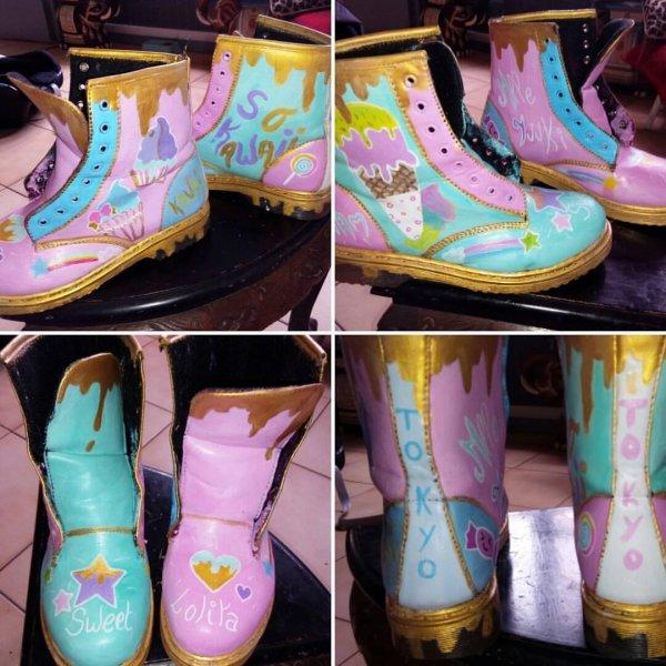 Custom ses Shoes ! c'est mieux que les acheté prête ! xp