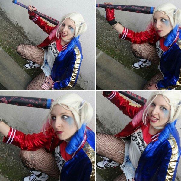 Moi en Harley Quinn !