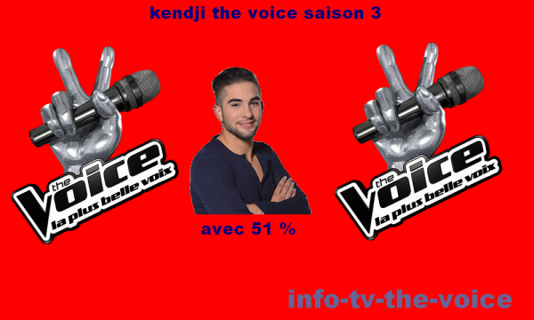 kendji remporte the voice