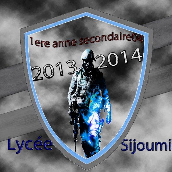 lycée sijoumi ( 1S4 2013 / 2014 )