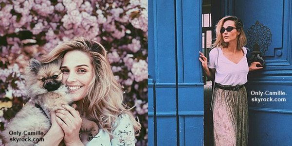 Photos personnelles de Camille