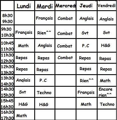 Schoolfic 2, Chapitre 2: