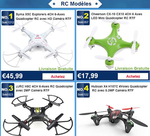 RC modèles ---- Meilleures ventes et Nouveaux produits