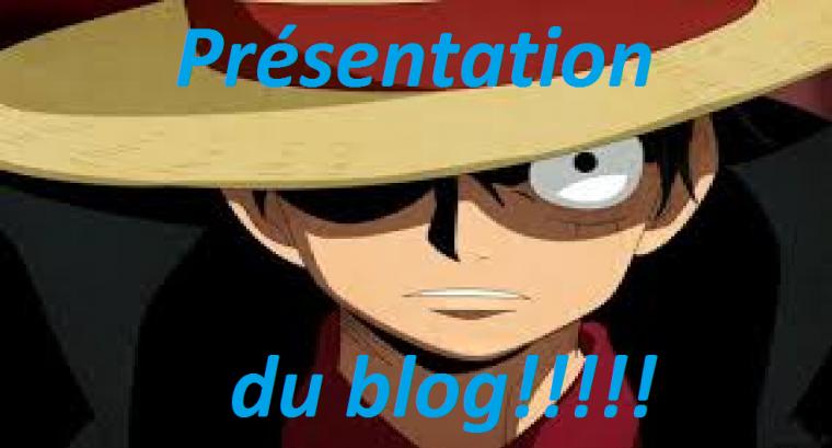 ~Présentation de mon blog~