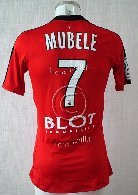 Maillot de Firmin Mubélé