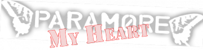 Paramore - My Heart (2004)