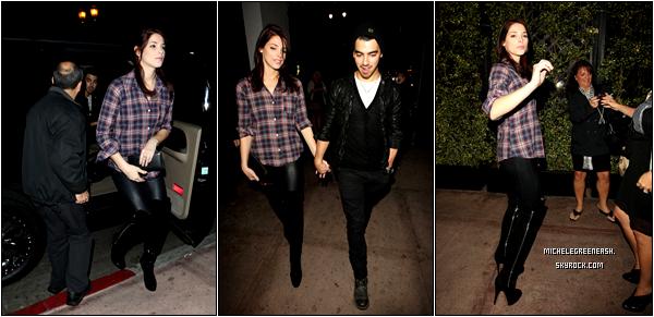 .  26 novembre 2010 - Ashley et Joe Jonas ont étés déjeuner entre amoureux, Ashley est très jolie, non ?.