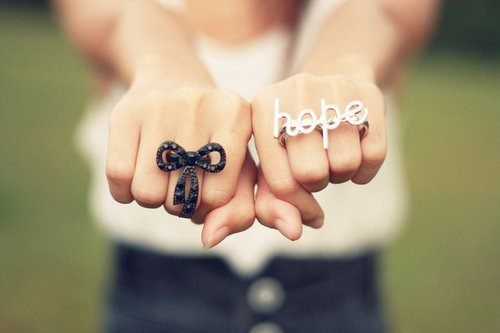 Hope For What ? ..