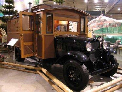 Un house car Ford 1931