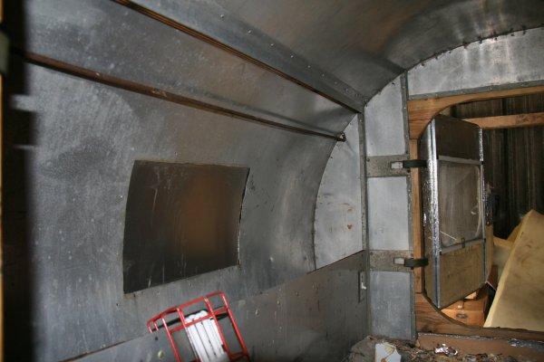 Fin du nettoyage à l'interieure
