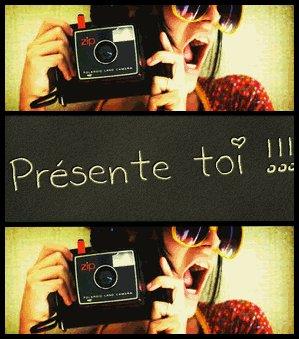 """# 2 """"PRESENTE TOI"""""""