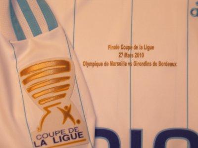 Maillot om finale coupe de la ligue 09/10