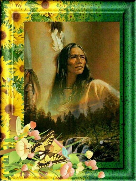 Amérindienne  je vous souhaite  une agréable  journée  à tous