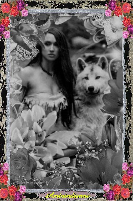 Amérindienne La Légende de la louve