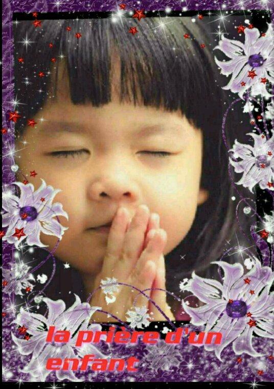 La prière d'un c½ur d'un enfants