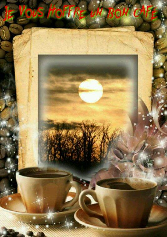 ♡Je vous hoffre un bon café mes amis(es)♡