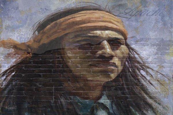 une reprodution sur un veux mur un Apache