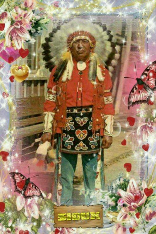 ♡ AMÉRINDIENNE le grand chef sioux ♡