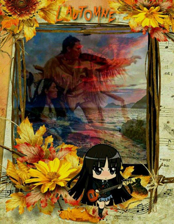 Voilà une belle image d'automne pour vous mes amis (es)