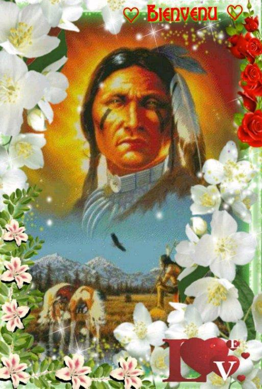 Amérindienne •Bienvenu mes amis (es)•