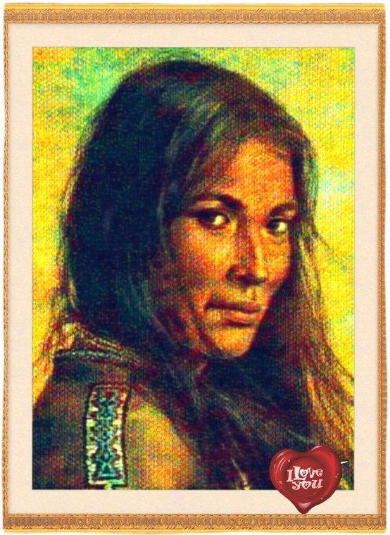 Cadre Amérindienne  ☆ bonne journée  à tous