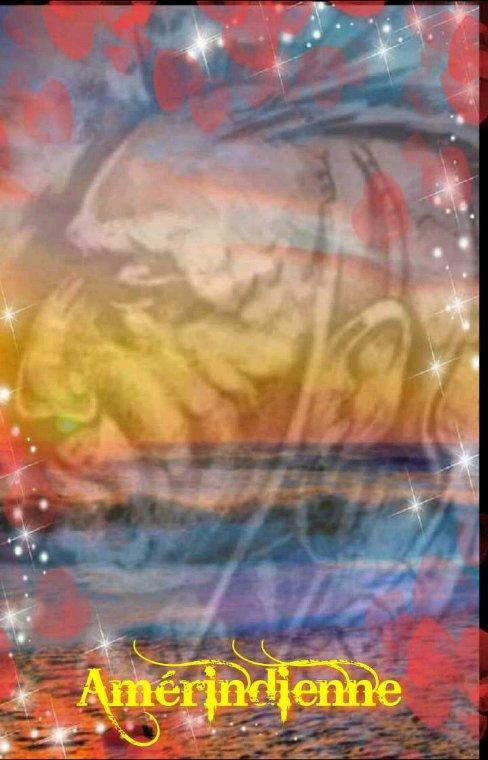 Amérindienne  peuple  Iroquois