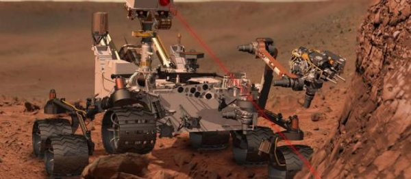 Sur Mars, aujourd'hui...