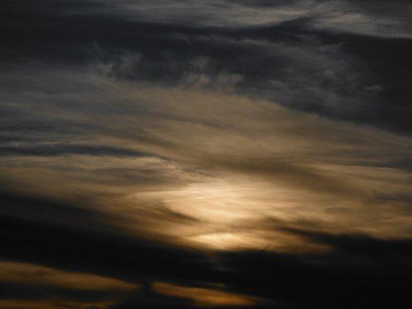 Un ciel superbe de nuances...