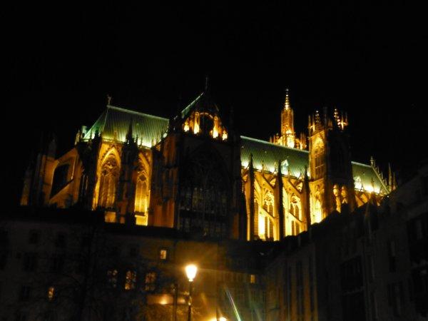 Soleil sur Metz...