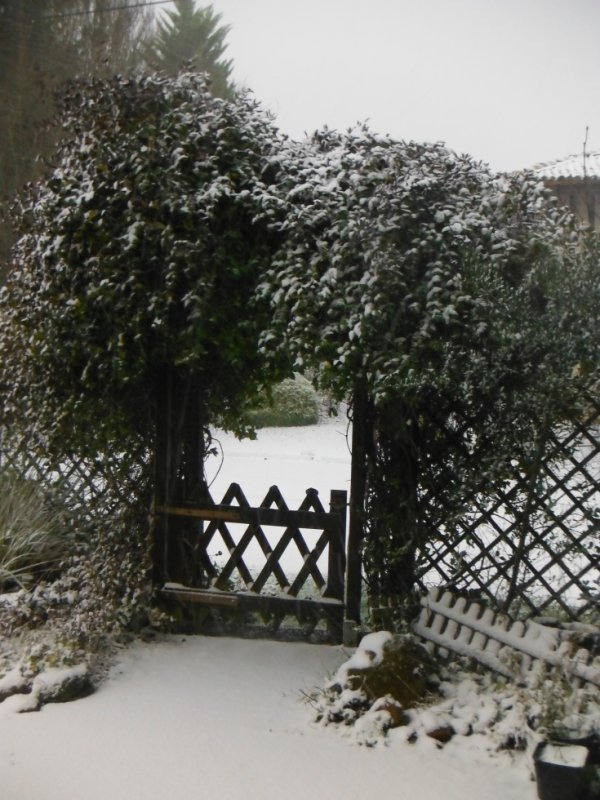 Dimanche sous la neige