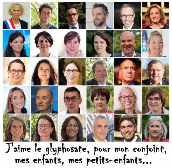 Interdiction du glyphosate : les 63 députés qui ont voté contre l'inscription dans la loi