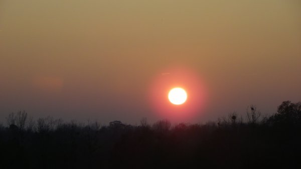 Coucher de soleil en Argonne et autres