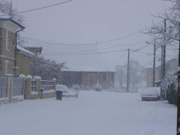 neige en Argonne ce mercredi 23 janvier...