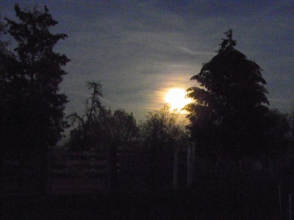 Lever de lune et autres.