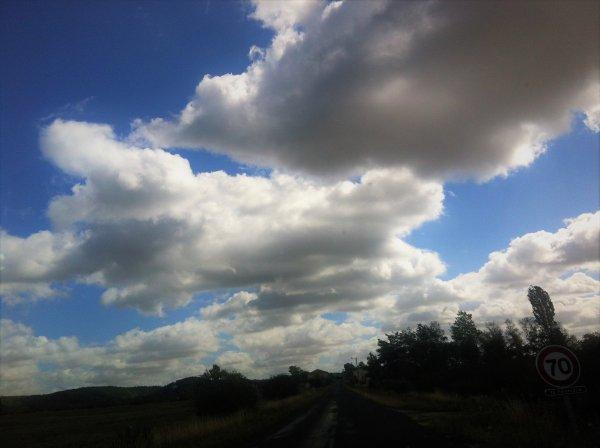 ciel du jour en Argonne.