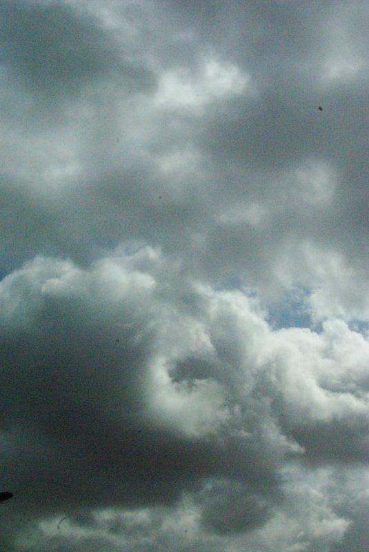 Orage, grêle, pluie et vent !